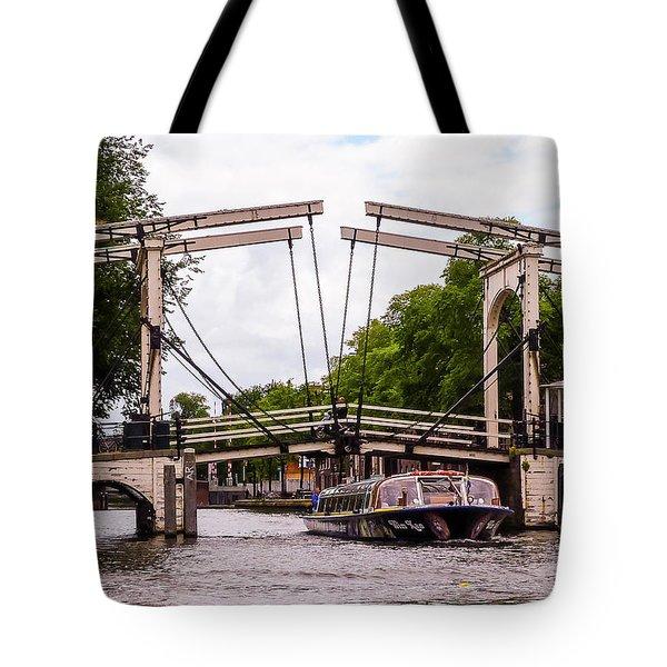 The Skinny Bridge Amsterdam Tote Bag