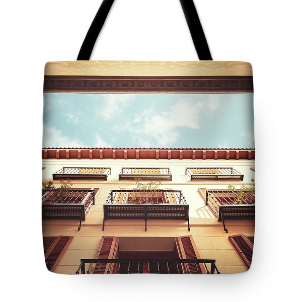 The Sky Above Tote Bag