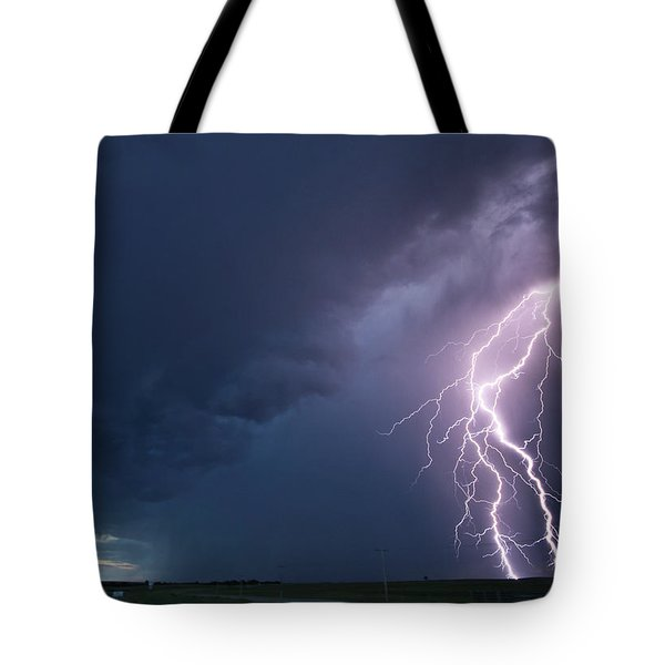 The Sky Is Alive Tote Bag