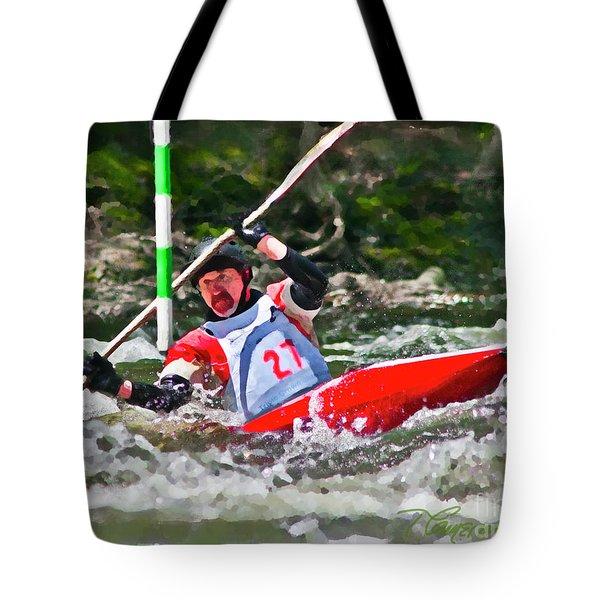 The Slalom Tote Bag