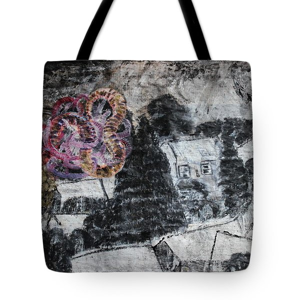 The Slow And Winding Tale Of Destruction Tote Bag
