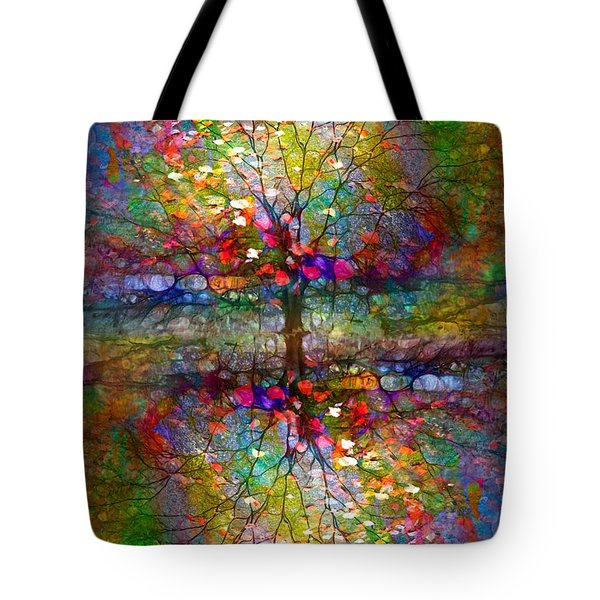 The Souls Of Leaves Tote Bag