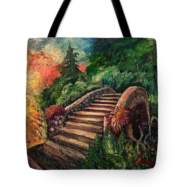 The Spirit Bridge At City Park  Tote Bag