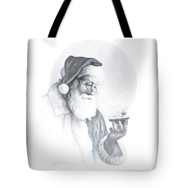 The Spirit Of Christmas Vignette Tote Bag