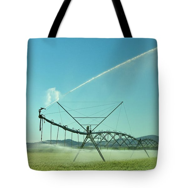 The Spray At The End Tote Bag