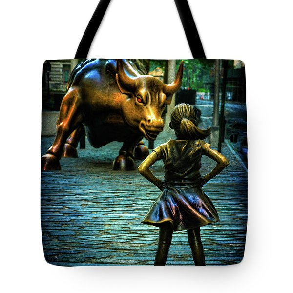 Tote Bag featuring the photograph The Standoff by Chris Lord