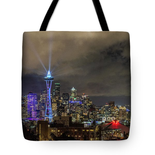 The Star Of Seattle Tote Bag