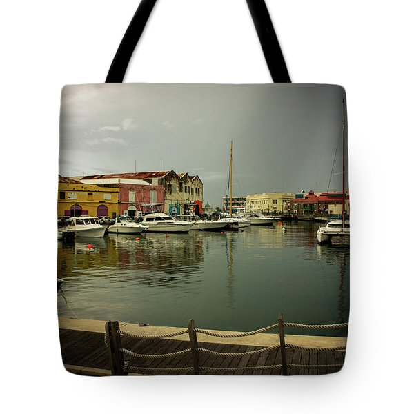 The Storm's A Coming. Tote Bag
