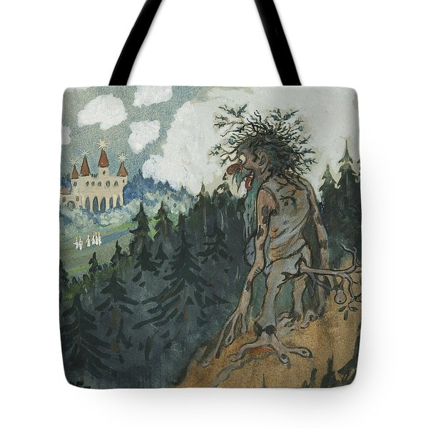 Tote Bag featuring the photograph The Story Of The Six Princesses by Ivar Arosenius