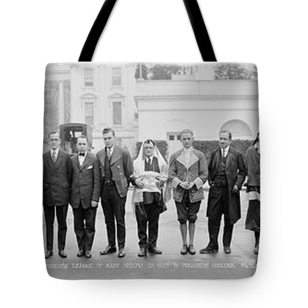 The Students League Of Many Nations Tote Bag