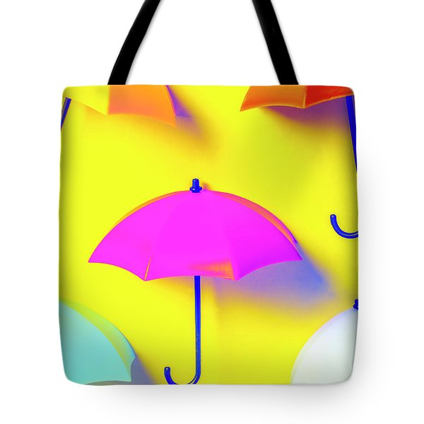 The Sun Shower Scene Tote Bag