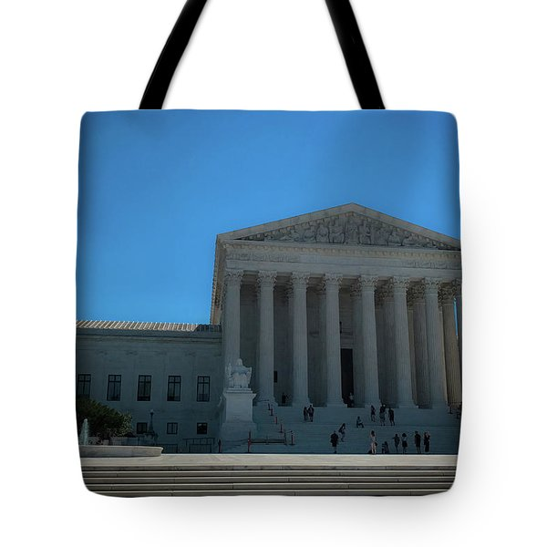 The Supreme Court Tote Bag