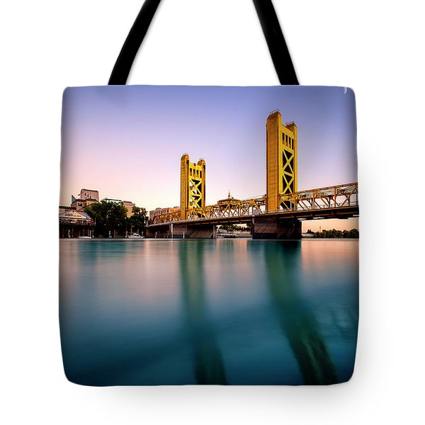 Tote Bag featuring the photograph The Surreal- by JD Mims