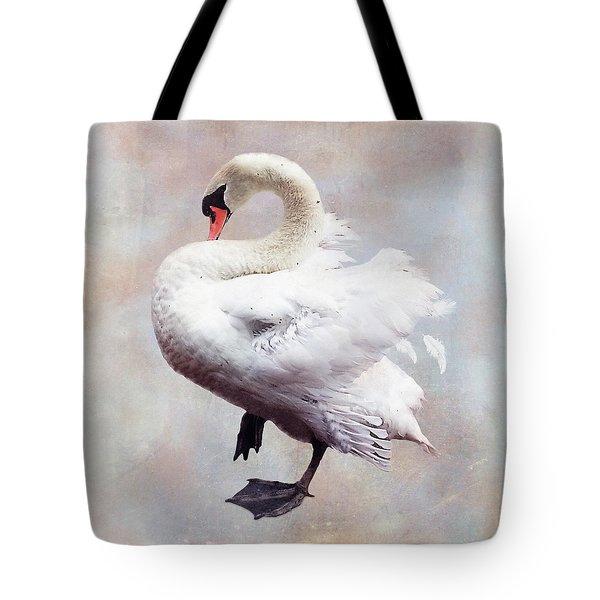 The Swan Tote Bag