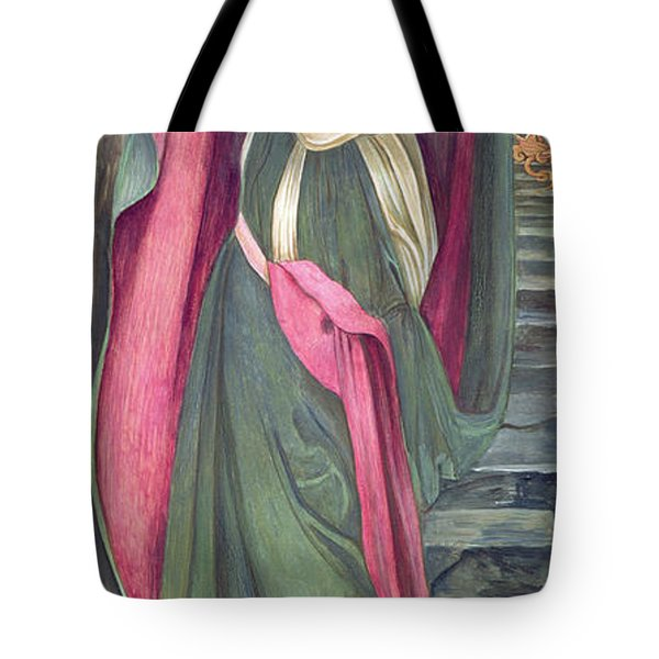 The Task Of The Black Fountain Tote Bag