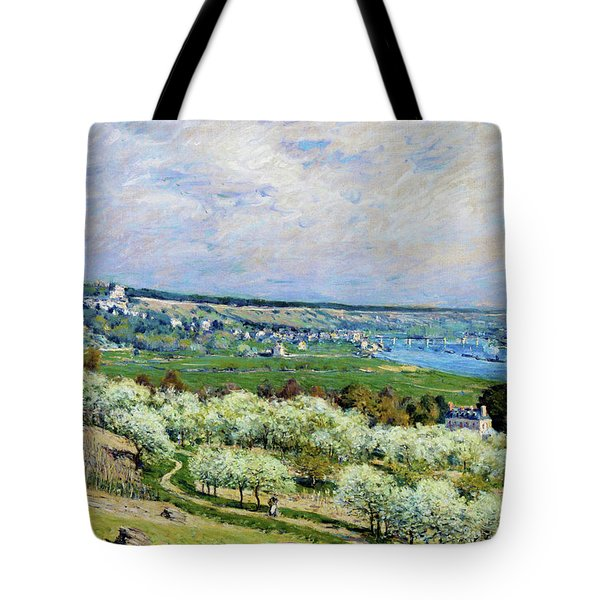The Terrace At Saint - Digital Remastered Edition Tote Bag