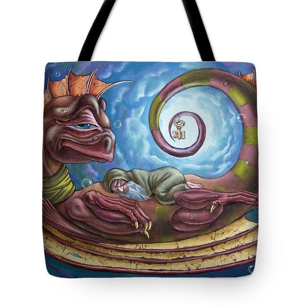 The Third Dream Of A Celestial Dragon Tote Bag