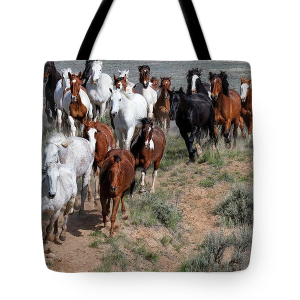 The Thundering Herd Tote Bag