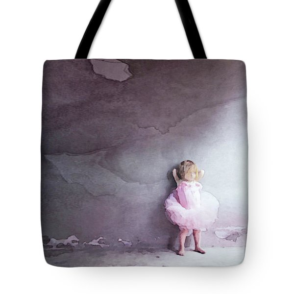 Tote Bag featuring the mixed media Pink Tutu by Susan Maxwell Schmidt