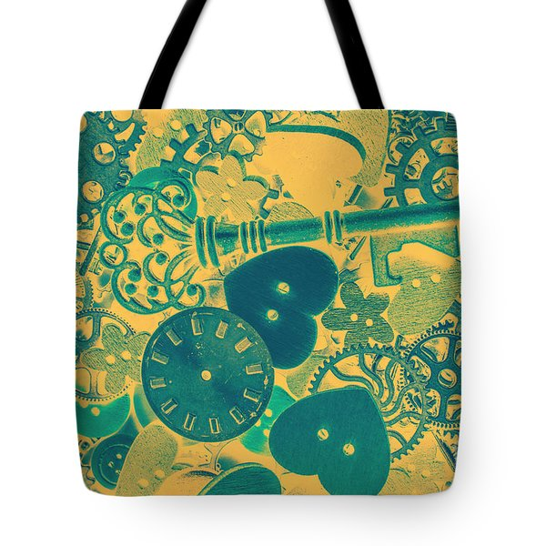 The Tme, The Place Tote Bag