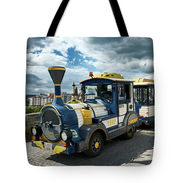 The Touristic Train Of Ourense Tote Bag