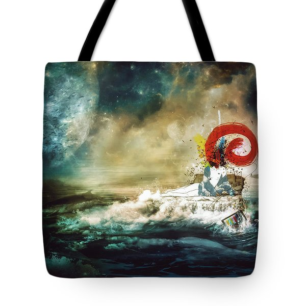 The Traffic Of The Whales Tote Bag