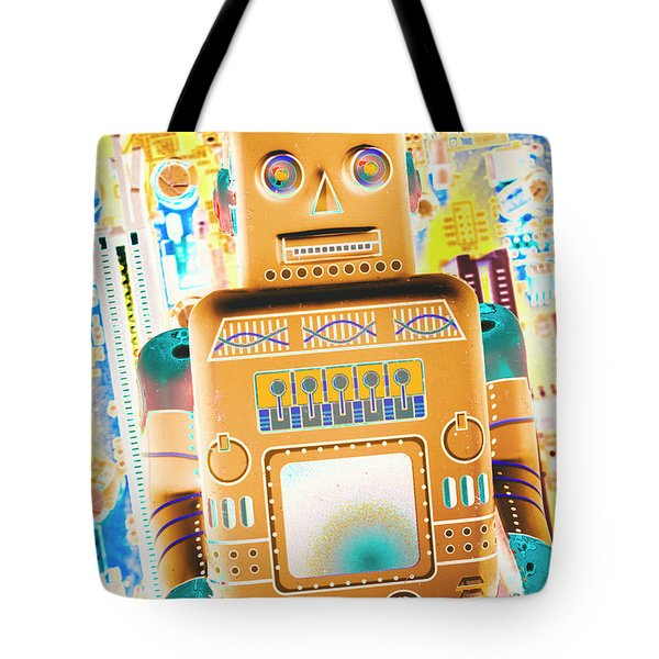 The Transistor Bot Tote Bag