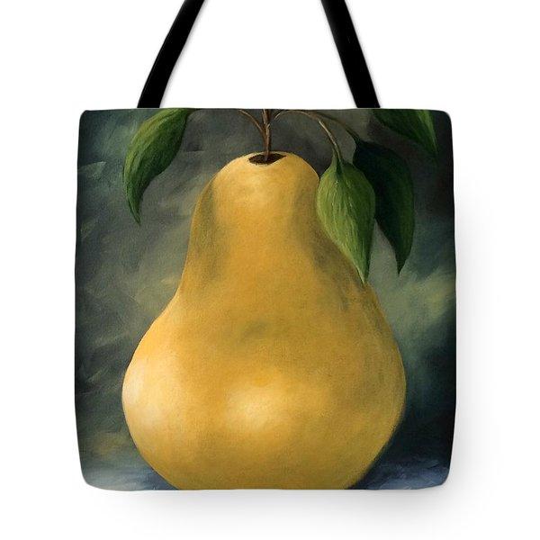 The Treasured Pear Tote Bag