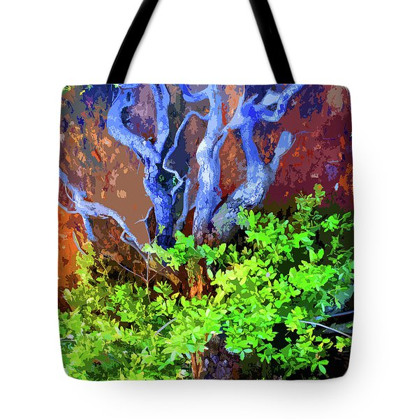 Tote Bag featuring the photograph The Tree Of Life by Ben Upham III