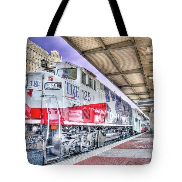 The Trinity Railway Express Tre Tote Bag