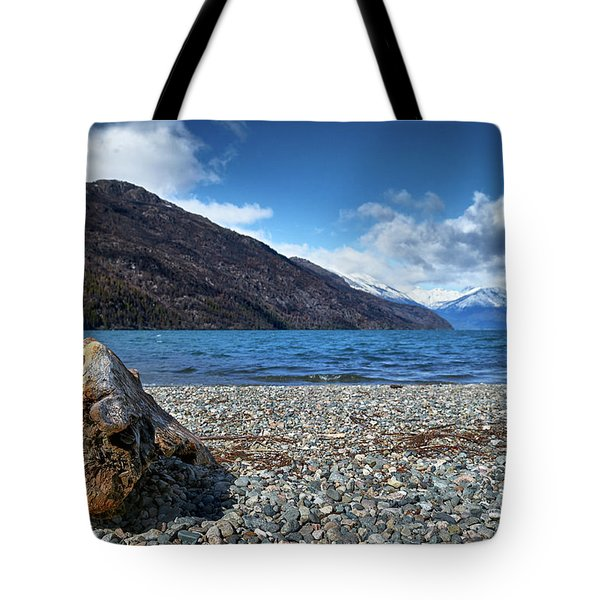 The Puelo Lake In The Argentine Patagonia Tote Bag