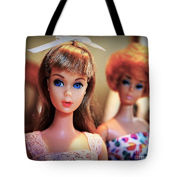 The Two Dolls Tote Bag