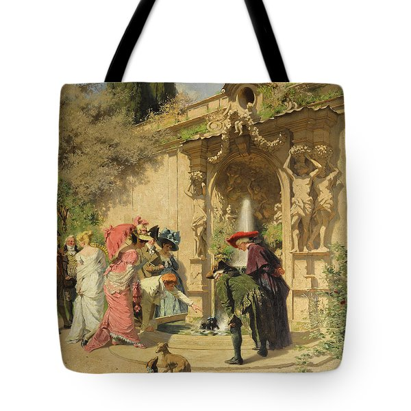 The Unexpected Bath Tote Bag