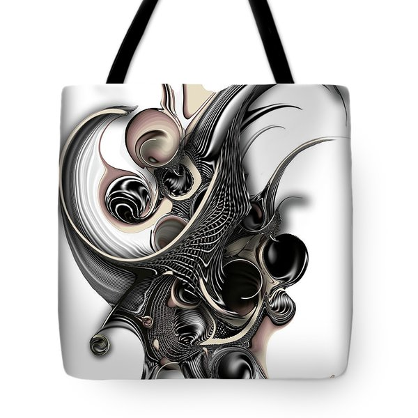 The Unfolding Purity Tote Bag