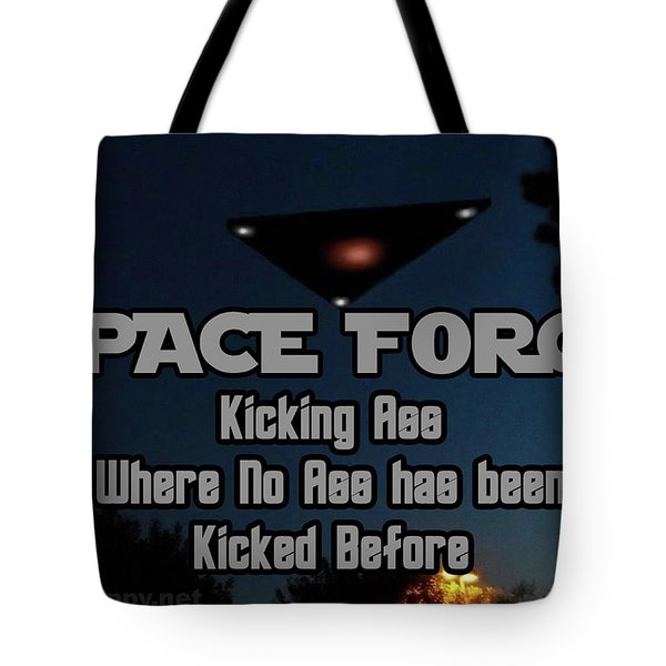 The United States . Space Force Tote Bag