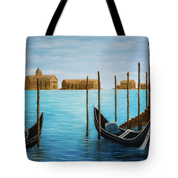 The Venetian Phoenix Tote Bag