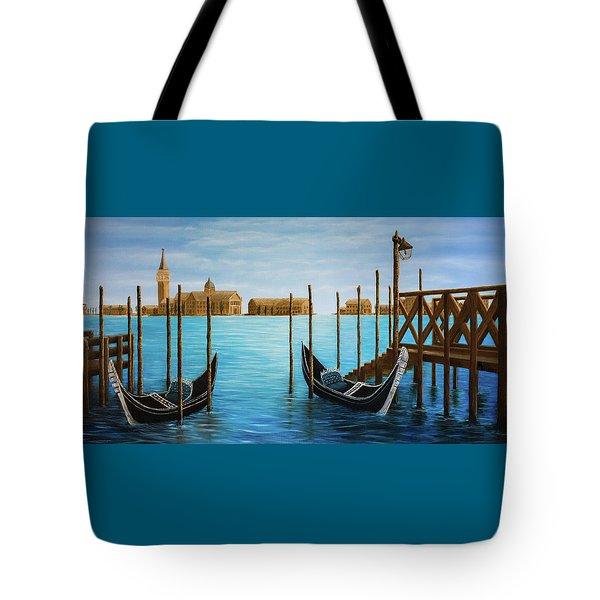 The Venetian Phoenix Tote Bag