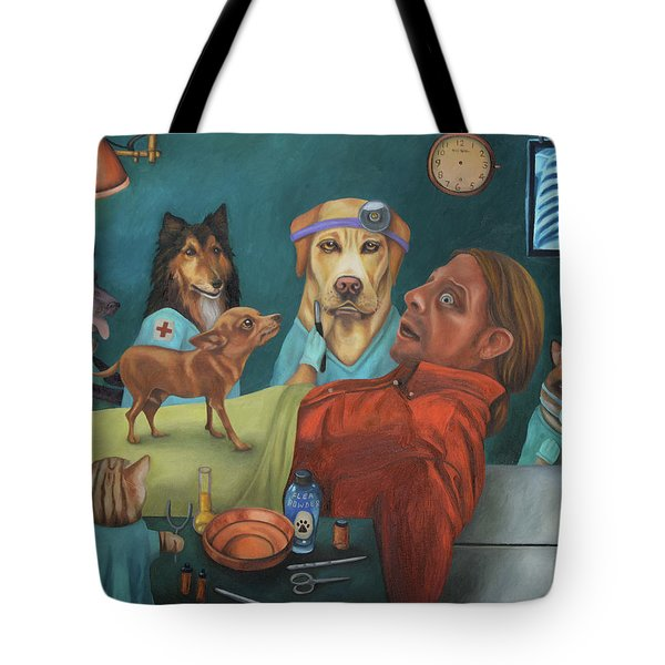 The Vet's Worst Nightmare Tote Bag