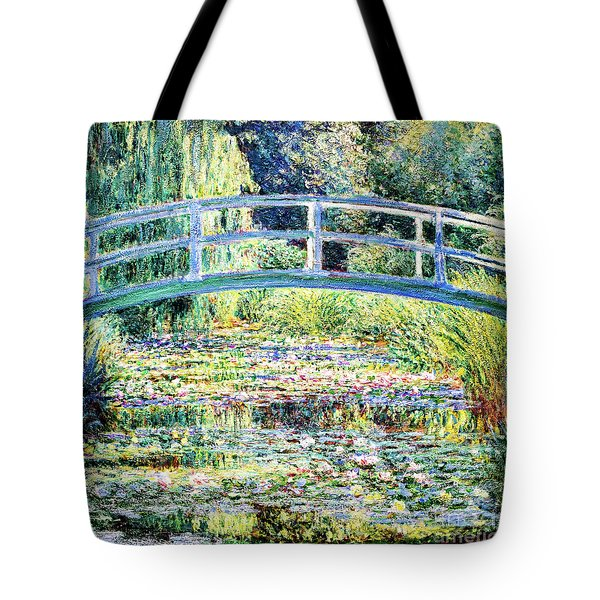 The Water Lily Pond By Monet Tote Bag