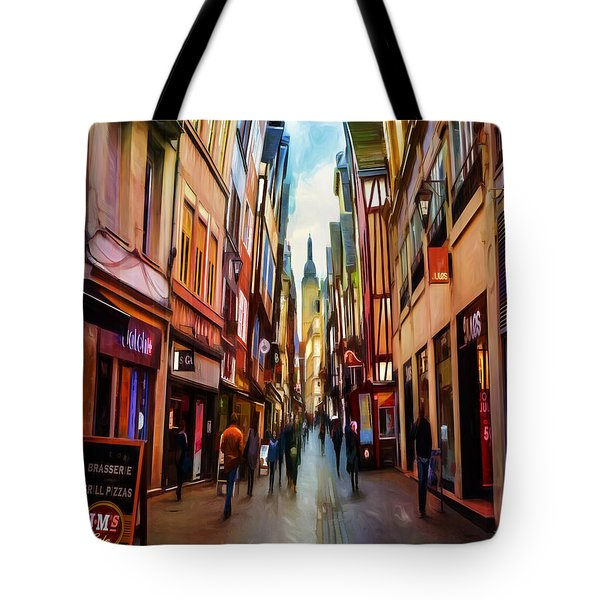 The Whisical Avenue Tote Bag