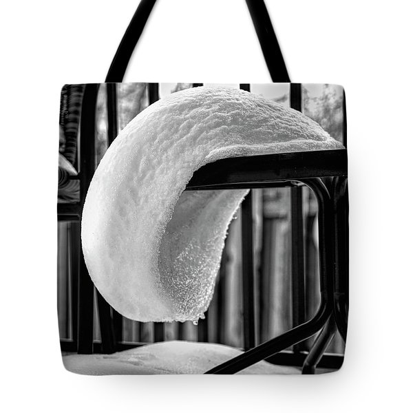 The White Beret Tote Bag