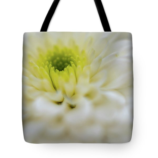 Tote Bag featuring the photograph The White Flower by Francisco Gomez