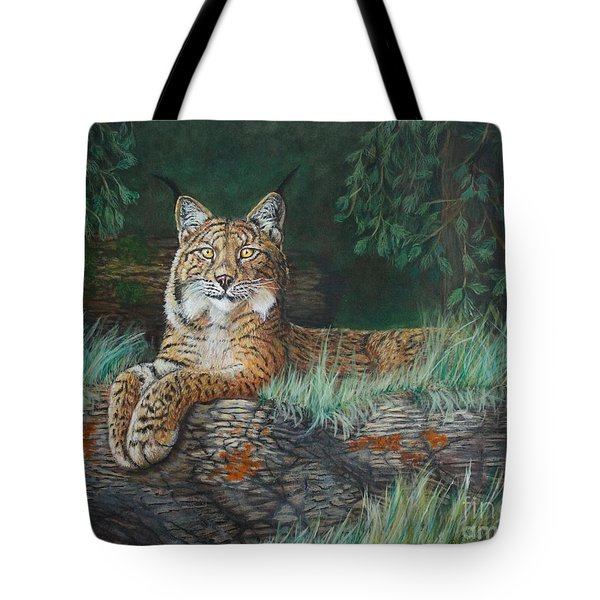 The Wild Cat  Tote Bag