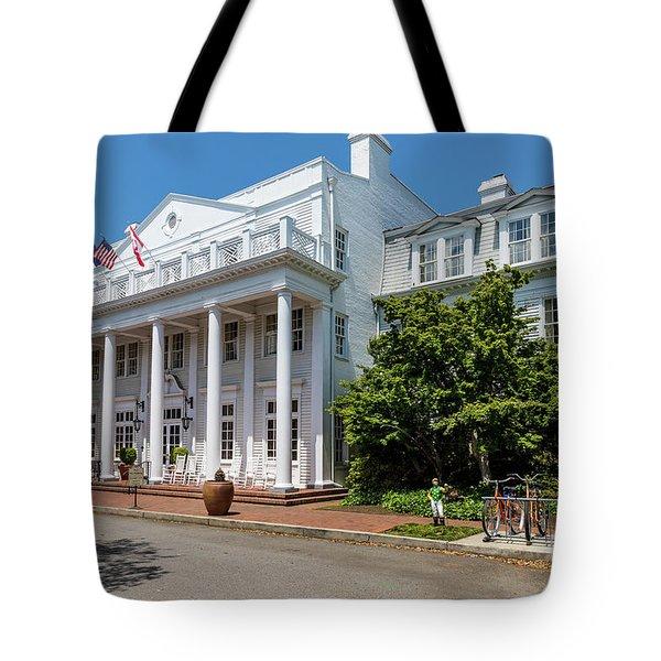 The Willcox Hotel - Aiken Sc Tote Bag