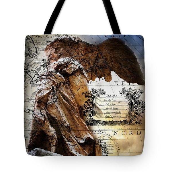 4d218baf8ad Nike Of Samothrace Tote Bags   Fine Art America