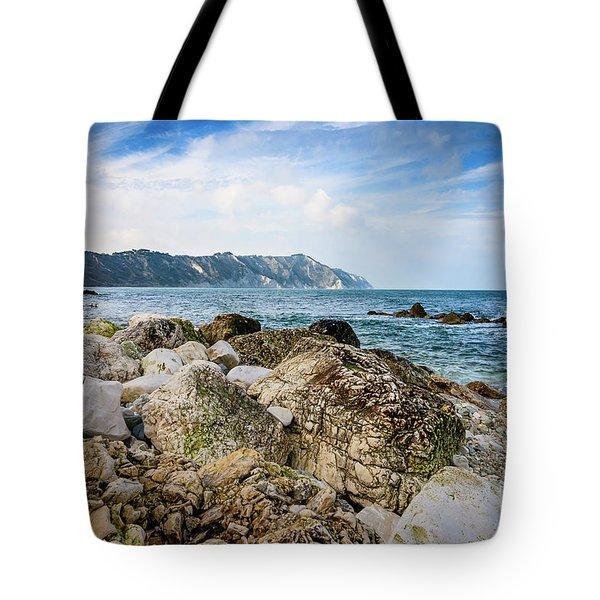 The Winter Sea #1 Tote Bag