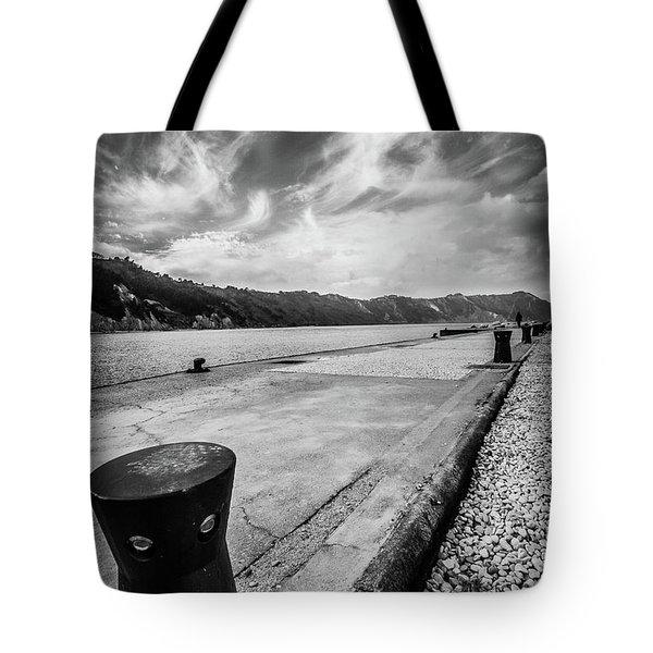 The Winter Sea #3 Tote Bag