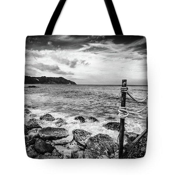 The Winter Sea #4 Tote Bag