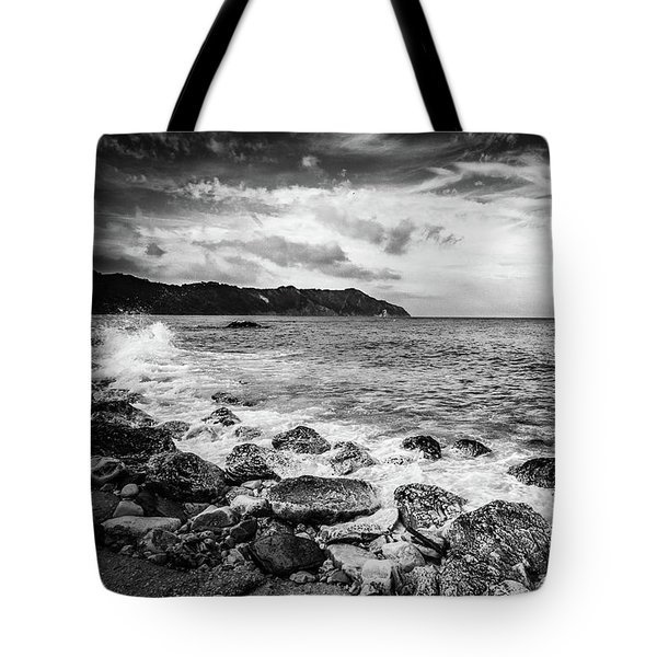 The Winter Sea #4 Tote Bag