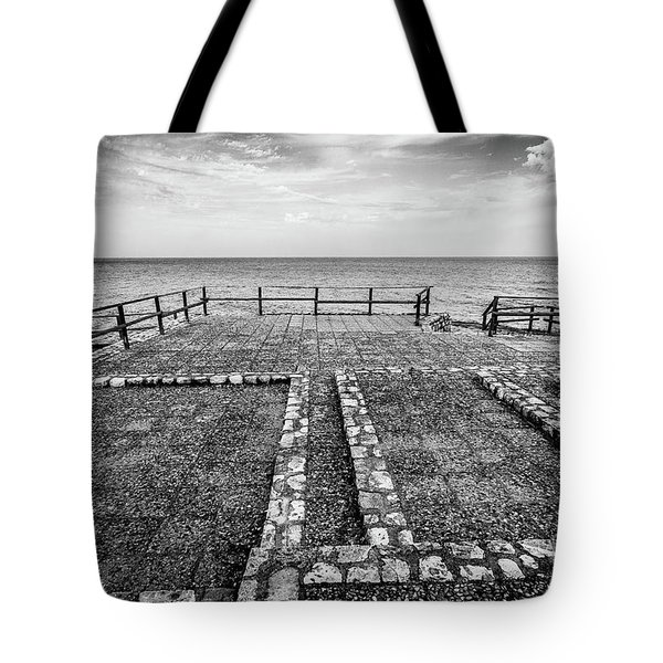 The Winter Sea #5 Tote Bag